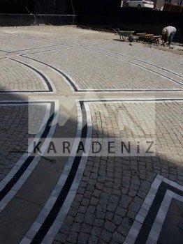 Erzurum Karayolları granit küp taş