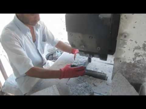 bazalt ve granit küp taş kırma makinası
