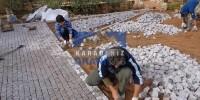 Granit küp taş desen döşeme işçiği nasıl