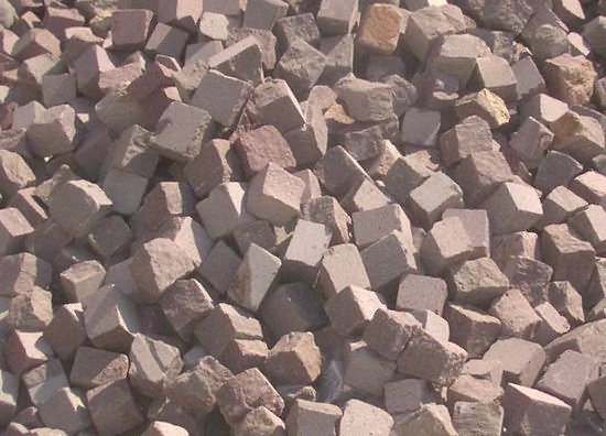 ankara andezit küp taşları