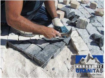 bazalt küp taş üretimi