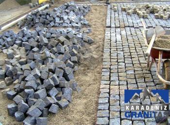 granit küp taş zemin döşeme taşları