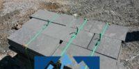 bazalt plaka döşeme taşları üretimi ve uygulama