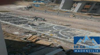 Uşak bazalt küp taş üretimi ve uygulama