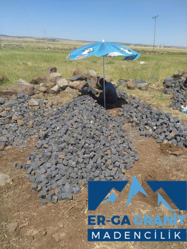 4x6x6 bazalt küp taş üretimi