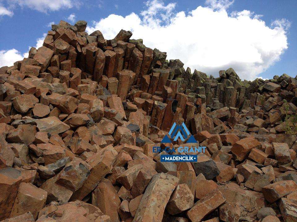 aliağa bazalt küp taş üretimi