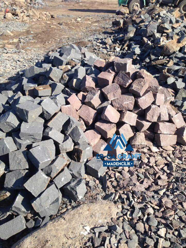 Ankara bazalt küp taş
