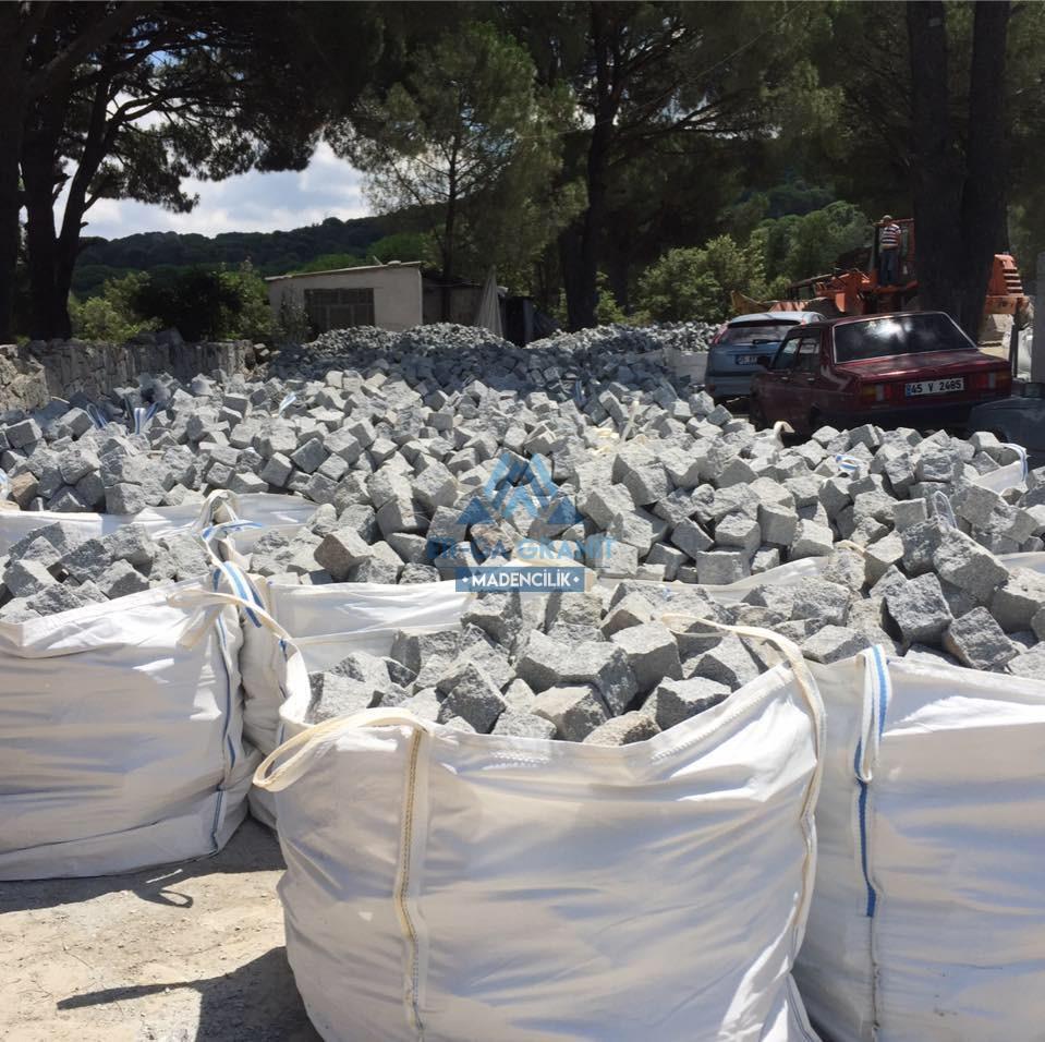 Granit küp taş ihraç 8x10